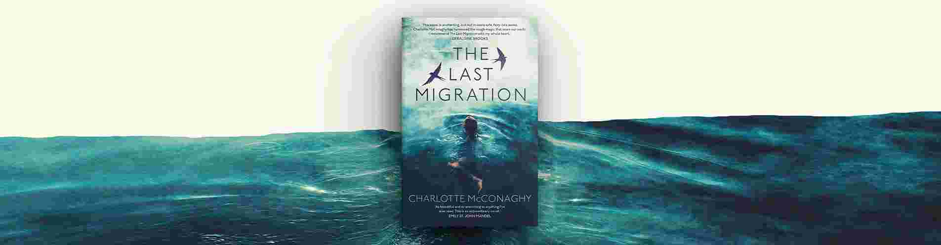 """Read an extract of """"The Last Migration"""" by Charlotte McConaghy header image"""