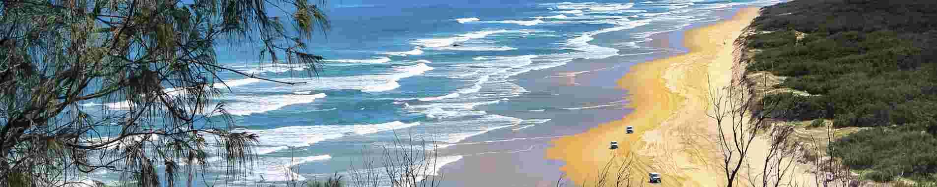 Hervey Bay and Fraser Island header image